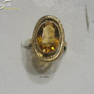 anello topazio