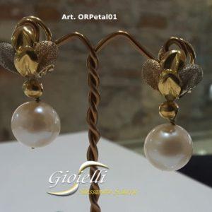 orecchini perle scaramazze