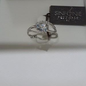 anello acquamarina