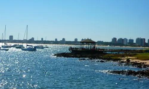 Playa Mansa em Punta del Este