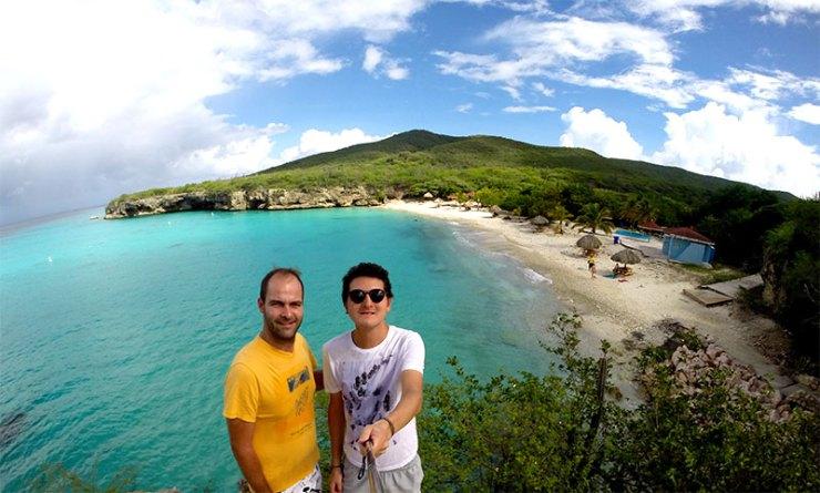 Rafael Carvalho e Adolfo Nomelini (Foto: Esse Mundo é Nosso)