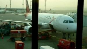 Avião da Taca em Guarulhos