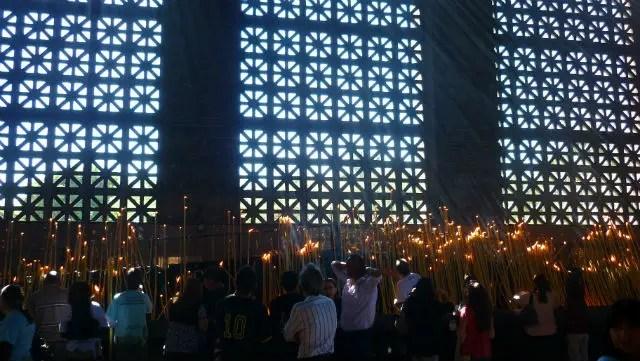 Sala das Velas - Santuário de Aparecida (Foto: Esse Mundo É Nosso)