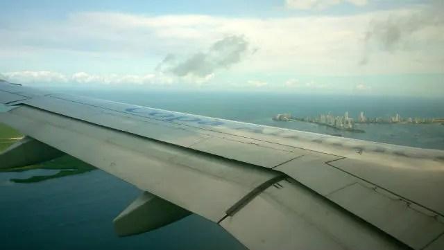 Voo para Cartagena de Indias (Foto: Esse Mundo É Nosso)