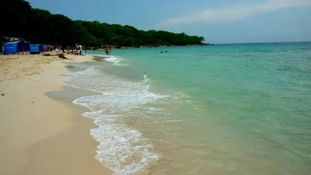 Playa Blanca de Baru (Foto: Esse Mundo É Nosso)