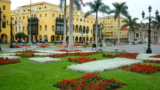 Plaza Mayor de Lima, Peru (Foto: Esse Mundo É Nosso)