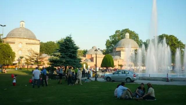 Parque Sultanahmet - Istambul (Foto: Esse Mundo É Nosso)