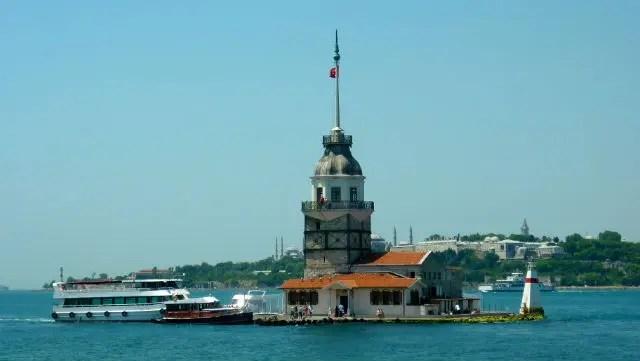 Kız Kulesi, Istambul (Foto: Esse Mundo É Nosso)