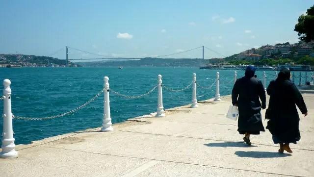 Ponte do Bósforo - Üsküdar, Istambul (Foto: Esse Mundo É Nosso)
