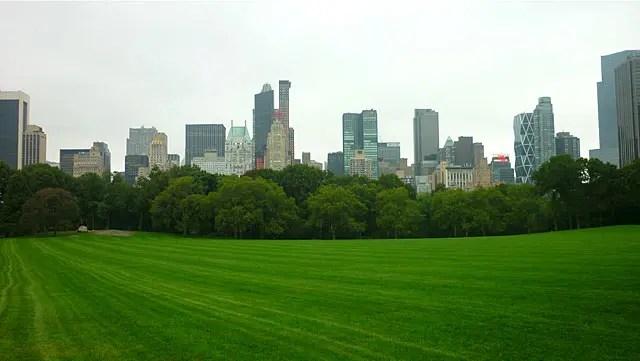 Sheep Meadow - Central Park de Nova York (Foto: Esse Mundo é Nosso)