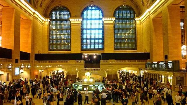 Grand Central em Nova York (Foto: Esse Mundo é Nosso)