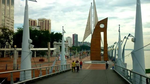 Malecón 2000 - Guayaquil, Equador (Foto: Esse Mundo É Nosso)