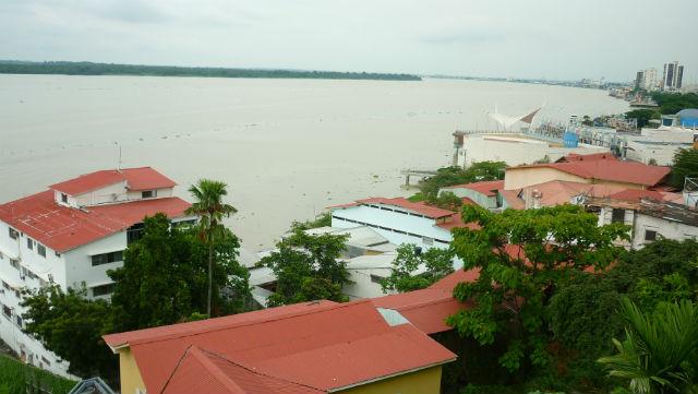 Vista de Las Peñas, Guayaquil - Equador (Foto: Esse Mundo É Nosso)