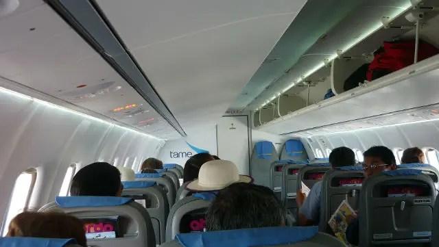 Como é voar TAME - Interior do ATR 42-500 (Foto: Esse Mundo É Nosso)