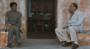 """Cena do filme """"O Carteiro e o Poeta"""" (Google Images)"""