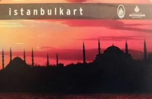 Istanbulkart - Transporte público em Istambul