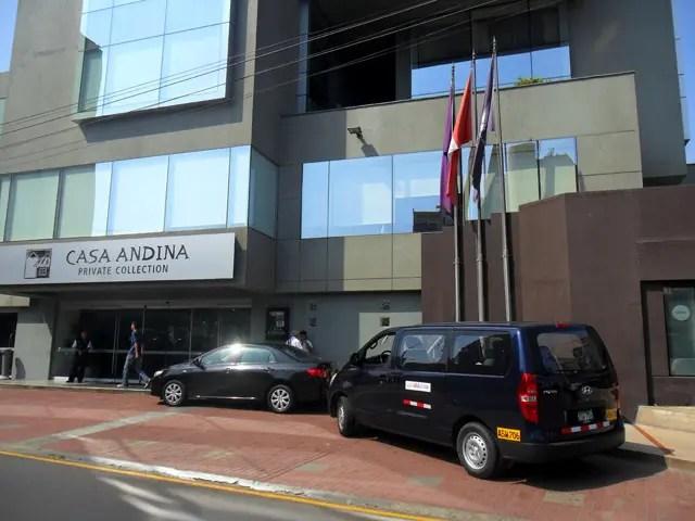 Transfer no aeroporto de Lima (Foto: Divulgação/LimaMentor)