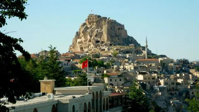 Castelo de Uçhisar, Capadócia - Turquia (Foto: Esse Mundo É Nosso)