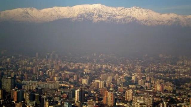 Santiago, Chile (Foto: Esse Mundo É Nosso)