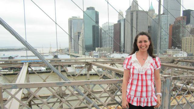 Juliana Bacci em NY