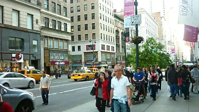 Quinta Avenida em Nova York (Foto: Esse Mundo é Noss)
