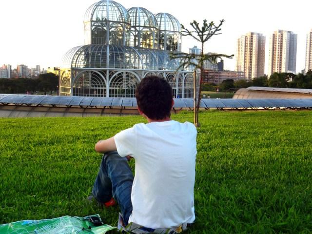 Jardim Botânico de Curitiba (Foto: Esse Mundo É Nosso)