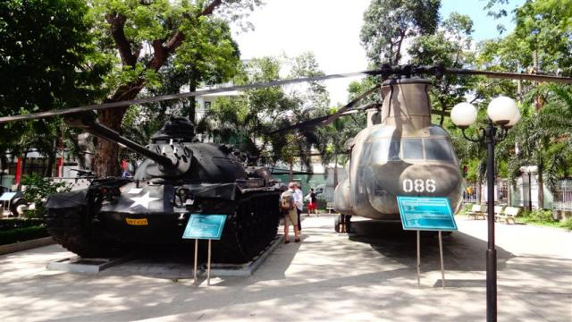 Museu da Guerra de Ho Chi Minh, Vietnã (Foto: Esse Mundo É Nosso)