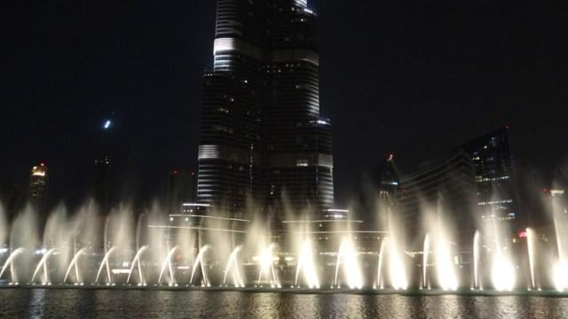 Show de Águas Dançantes de Dubai (Foto: Esse Mundo É Nosso)