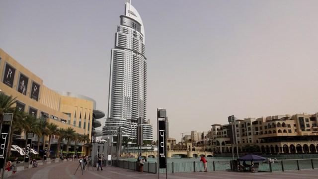 Downtown Dubai - The Dubai Mall e Show de Águas Dançantes de Dubai (Foto: Esse Mundo É Nosso)