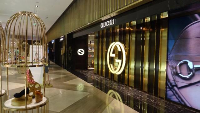 Fashion Avenue - The Dubai Mall e Show de Águas Dançantes de Dubai (Foto: Esse Mundo É Nosso)