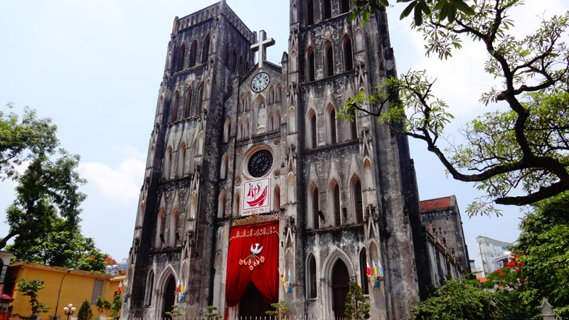 Catedral St. Joseph - Hanói, Vietnã (Foto: Esse Mundo É Nosso)