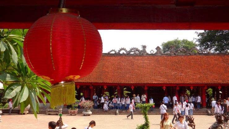 Templo da Literatura - Hanói, Vietnã (Foto: Esse Mundo É Nosso)