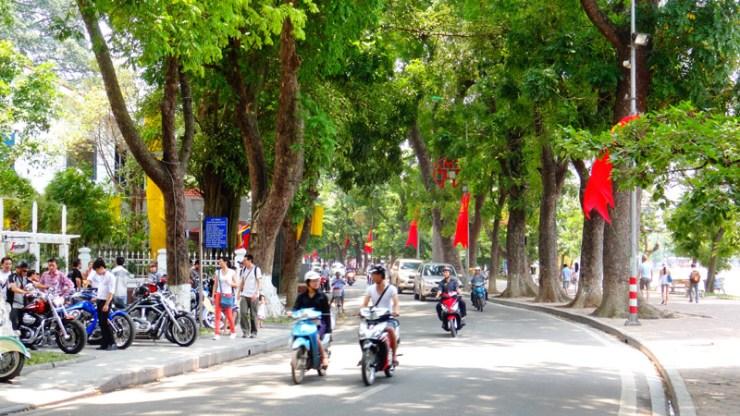 Região do Lago Hoan Kiem - Hanói, Vietnã (Foto: Esse Mundo É Nosso)