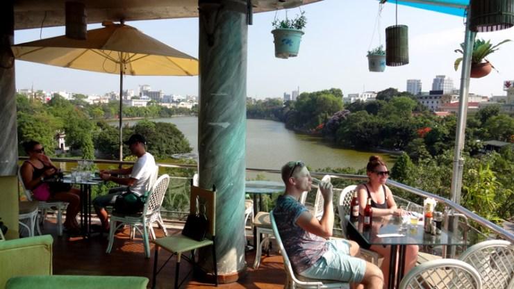 Lago Hoan Kiem - Hanoi, Vietnã (Foto: Esse Mundo É Nosso)