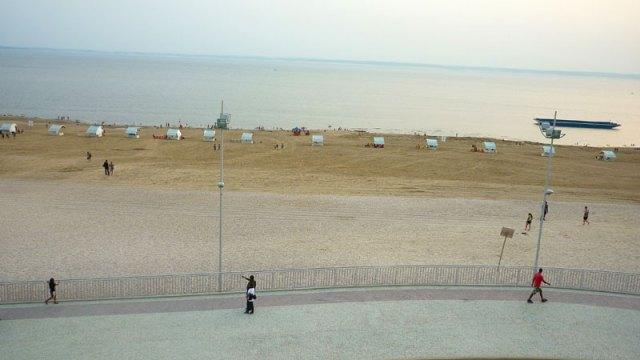 Praia da Ponta Negra, Manaus (Foto: Esse Mundo É Nosso)