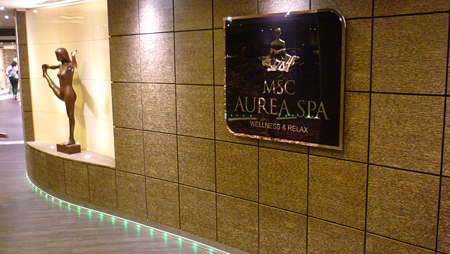 MSC Aurea SPA do MSC Preziosa (Foto: Esse Mundo É Nosso)