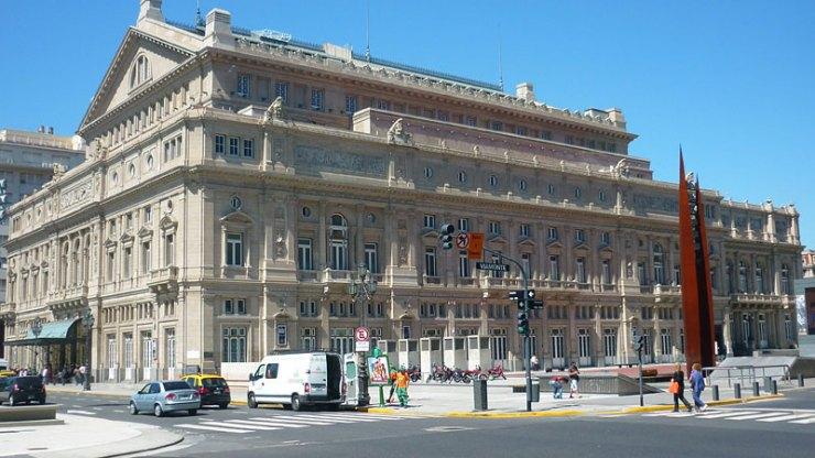 Teatro Colón - Buenos Aires a pé (Foto: Esse Mundo É Nosso)