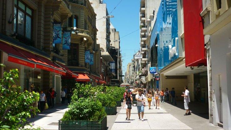 Florida - Buenos Aires a pé (Foto: Esse Mundo É Nosso)
