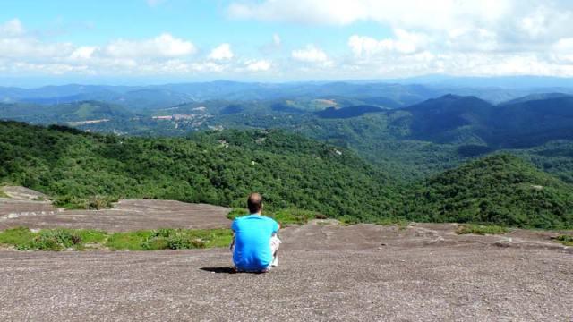 Trilha da Pedra Redonda em Monte Verde, Minas Gerais (Foto: Esse Mundo É Nosso)