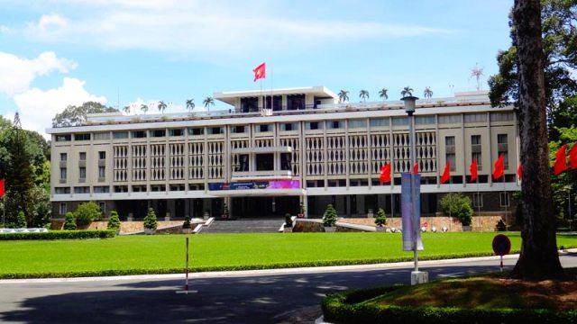 Reunification Palace em Ho Chi Minh, Vietnã (Foto: Esse Mundo É Nosso)