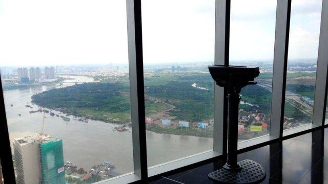 Saigon Skydeck em Ho Chi Minh (Foto: Esse Mundo É Nosso)