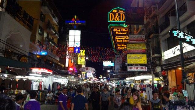 Khaosan Road, Bangkok (Foto: Esse Mundo É Nosso)
