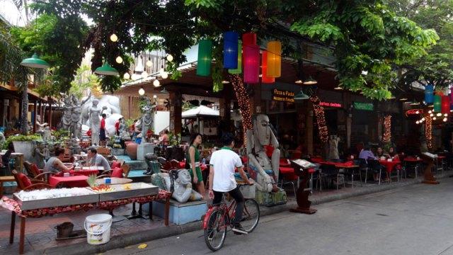 Arredores da Khaosan Road, Bangkok (Foto: Esse Mundo É Nosso)