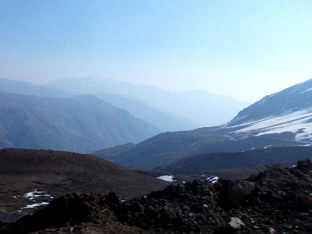 Montanhas do Chile (Foto: Esse Mundo é Nosso)