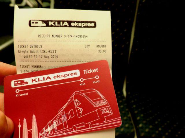 Como ir do aeroporto de Kuala Lumpur ao centro da cidade (Foto: Esse Mundo É Nosso)