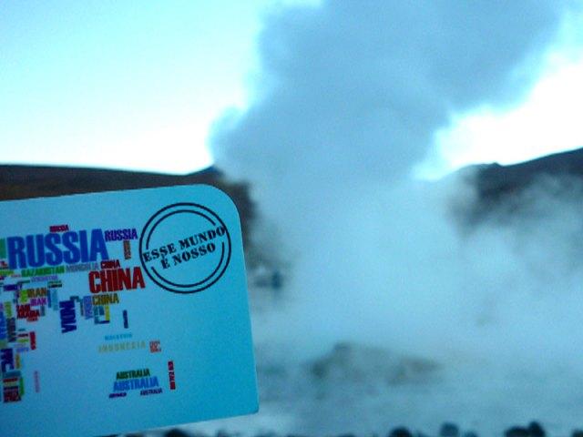 Geysers del Tatio no Deserto do Atacama | Foto: Esse Mundo é Nosso