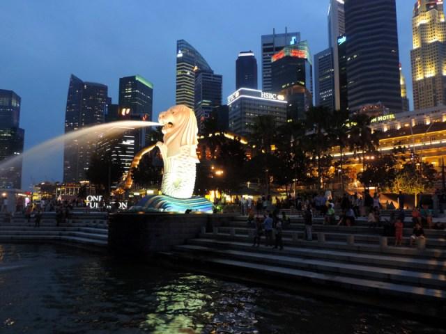 O que fazer em Cingapura: Merlion (Foto: Esse Mundo É Nosso)