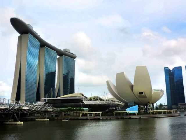 O que fazer em Cingapura: Marina Bay (Foto: Esse Mundo É Nosso)