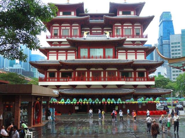 Chinatown de Cingapura: Buddha Tooth Relic Temple (Foto: Esse Mundo É Nosso)