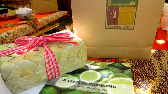 Aula de culinárian o Camboja (Foto: Esse Mundo É Nosso)